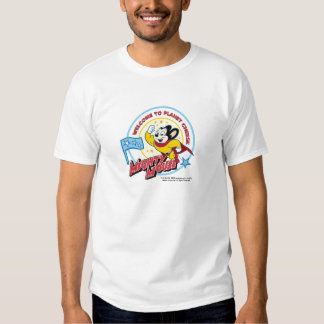 Mighty Mouse: 'Welcome to Planet Cheese' T-Shirt
