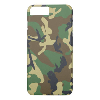 Military Camouflage Pattern iPhone 7 Plus Case