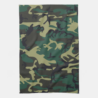 Military Camouflage Tea Towels