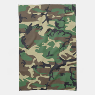 Military Camouflage Towels