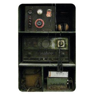 Military Comms Vintage Radio Equipment Rectangular Photo Magnet