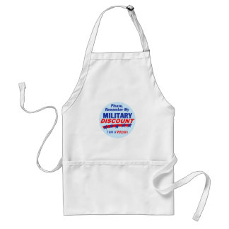 MILITARY DISCOUNT Apron