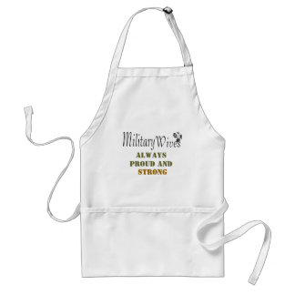 Military wives apron