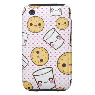 Milk & Cookies Tough iPhone 3 Cases