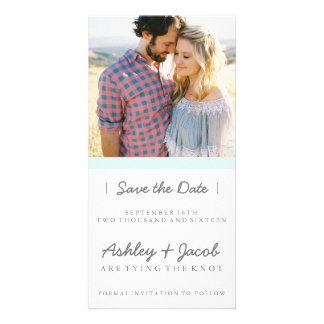 Minimalist Save the Date| WEDDINGS Personalised Photo Card
