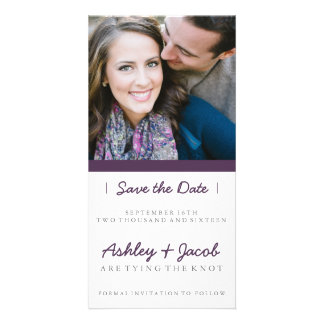 Minimalist Save the Date| WEDDINGS Personalized Photo Card
