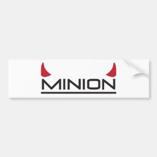 Minion Bumper Sticker