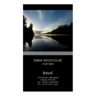 Mirror Lake Pack Of Standard Business Cards