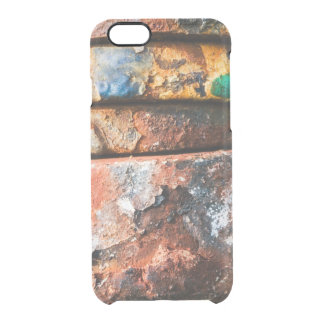 mixed metal race to cake clear iPhone 6/6S case