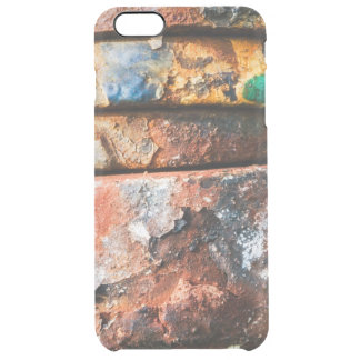 mixed metal race to cake clear iPhone 6 plus case