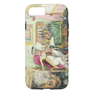 Mixing a Recipe for Corns, published by G. Humphre iPhone 7 Case