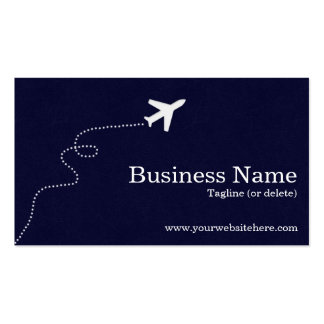 Modern and Simple Travel Business Cards