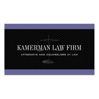 Modern Attorney Business Cards