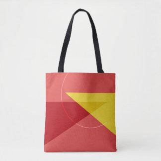 Modern Geometric Custom All-Over-Print Tote Bag