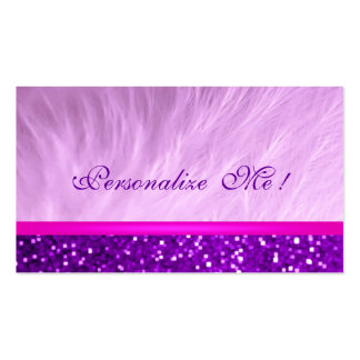 Modern Girly Glitter Sparkle /House-of-Grosch Pack Of Standard Business Cards