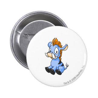 Moehog Blue 6 Cm Round Badge