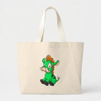 Moehog Green Jumbo Tote Bag