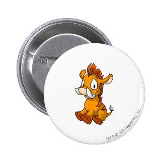 Moehog Orange 6 Cm Round Badge