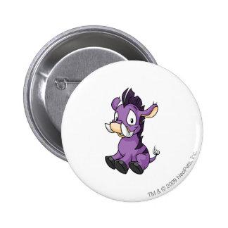 Moehog Purple 6 Cm Round Badge