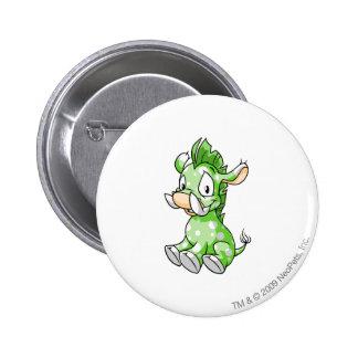 Moehog Speckled 6 Cm Round Badge