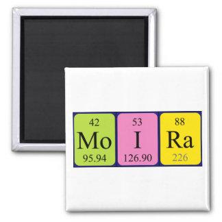 Moira periodic table name magnet