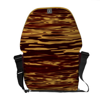 Molten Gold Ripple Effect Courier Bags