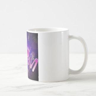 MoM heart design Basic White Mug