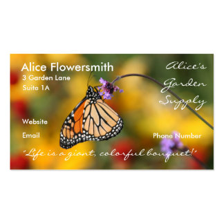 Monarch Butterfly Business Card