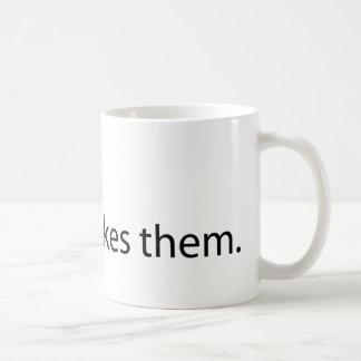 Mondays, No One Likes Them Basic White Mug
