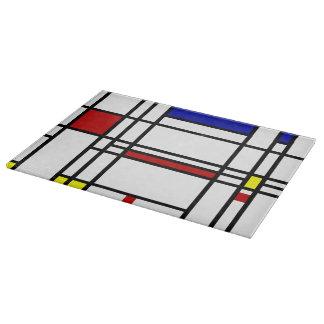 Mondrian Modern Art Cutting Boards
