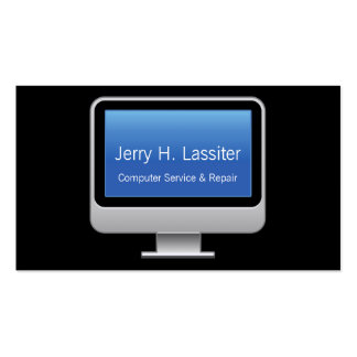 Monitor Card Pack Of Standard Business Cards