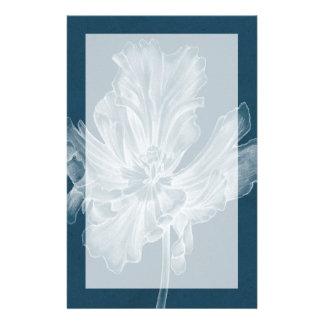 Monochrome Tulip II Personalized Stationery