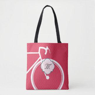 Monogram polkadot sporty Bicycle bag Tote Bag
