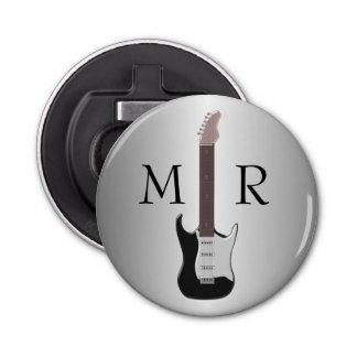 Monogrammed Electric Guitar