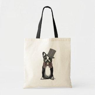 Monsieur Bulldog 2 Budget Tote Bag