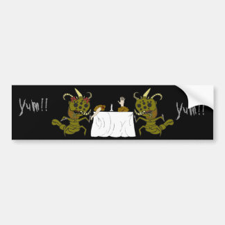 Monster Romance Bumper Sticker