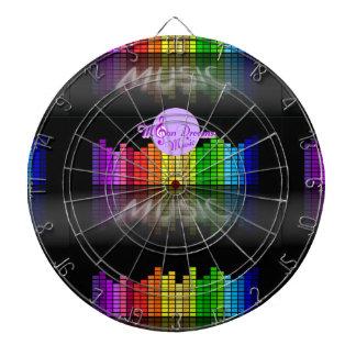 MoonDreams Music Equalizer Metal Cage Dartboard