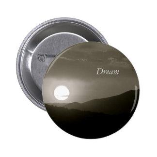 Moonlight Dreams 6 Cm Round Badge