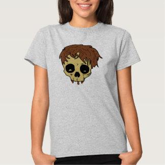Mop Top Skull Hair Head Shirts