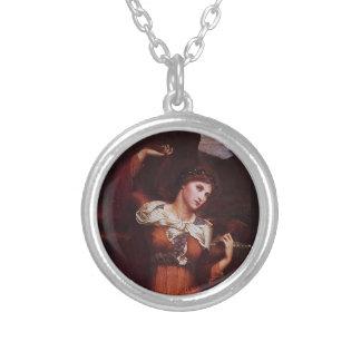 Morgana le Fay (Morgan Pendragon) Round Pendant Necklace