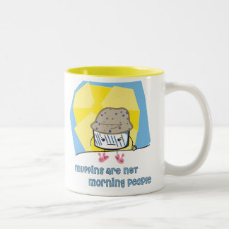 Morning Muffin Two-Tone Mug