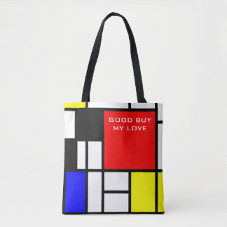 MOSAIC rectangles squares colored I + your ideas Tote Bag