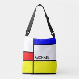 MOSAIC rectangles squares colored II + your ideas Tote Bag