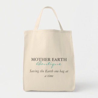 Mother Earth Boutique Grocery Tote Bag