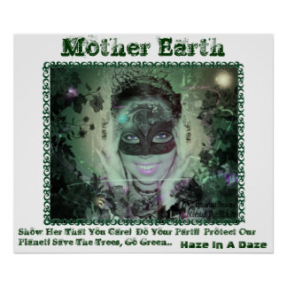 Mother Earth Poster With Words