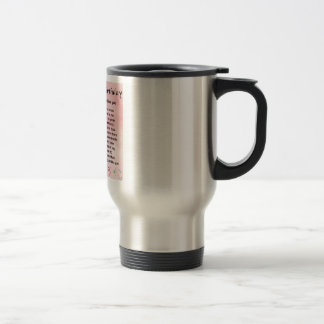 Mother in Law Poem - 40th Birthday Stainless Steel Travel Mug