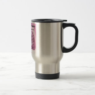 Mother in Law Poem - 70th Birthday Stainless Steel Travel Mug