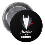 Mother of the Groom with Tuxedo Shirt - Button
