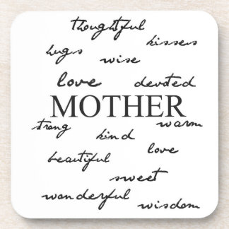 Mother Words Coaster