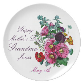 Mothers Day Plate For Grandma